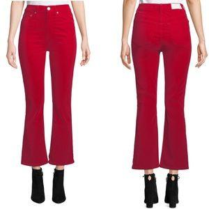 Re/Done Originals Red Velvet Jeans